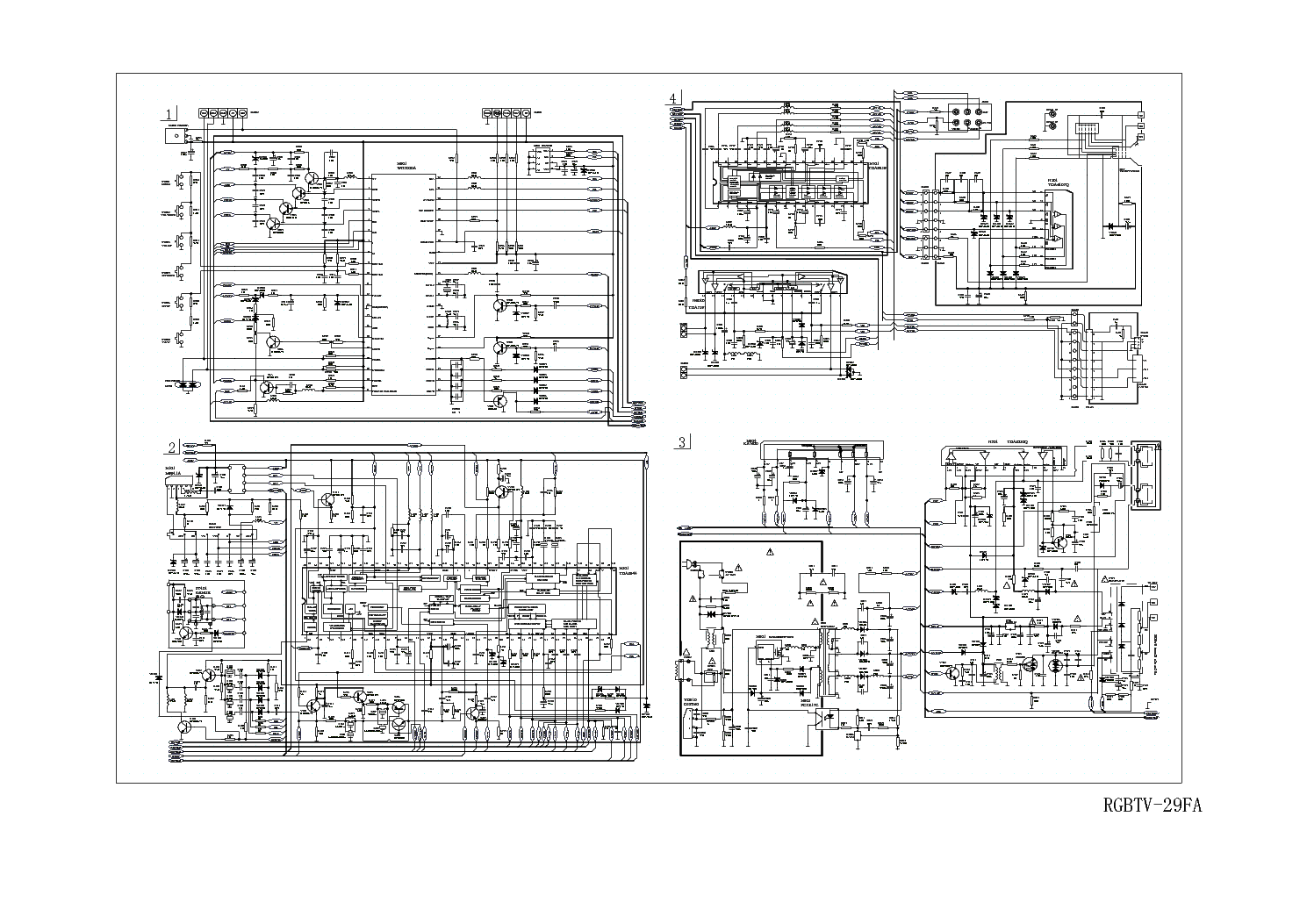 Led Tv Wiring Diagram For Receiver To Samsung Circuit Rv Water Pump 1988