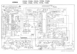 KONKA SCHEMATIC DIAGRAMS T2568KTDA9383,LA7845,TDA16846