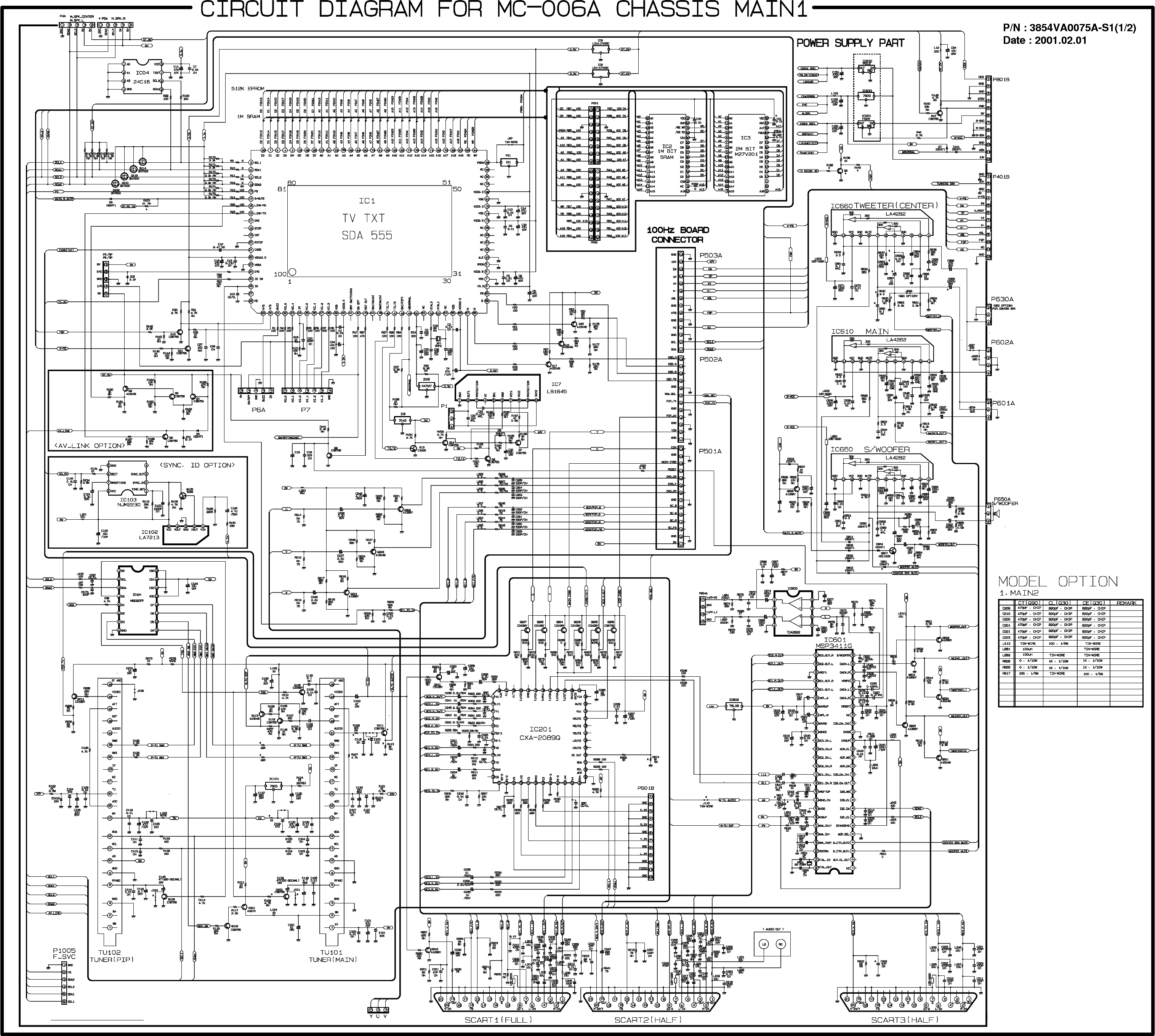 Lg Nc 5aa Service Manual Download Schematics Eeprom
