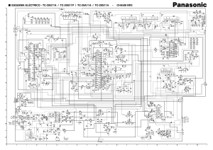 PANASONIC BR2 CHASSIS TC20G11A TV D Service Manual