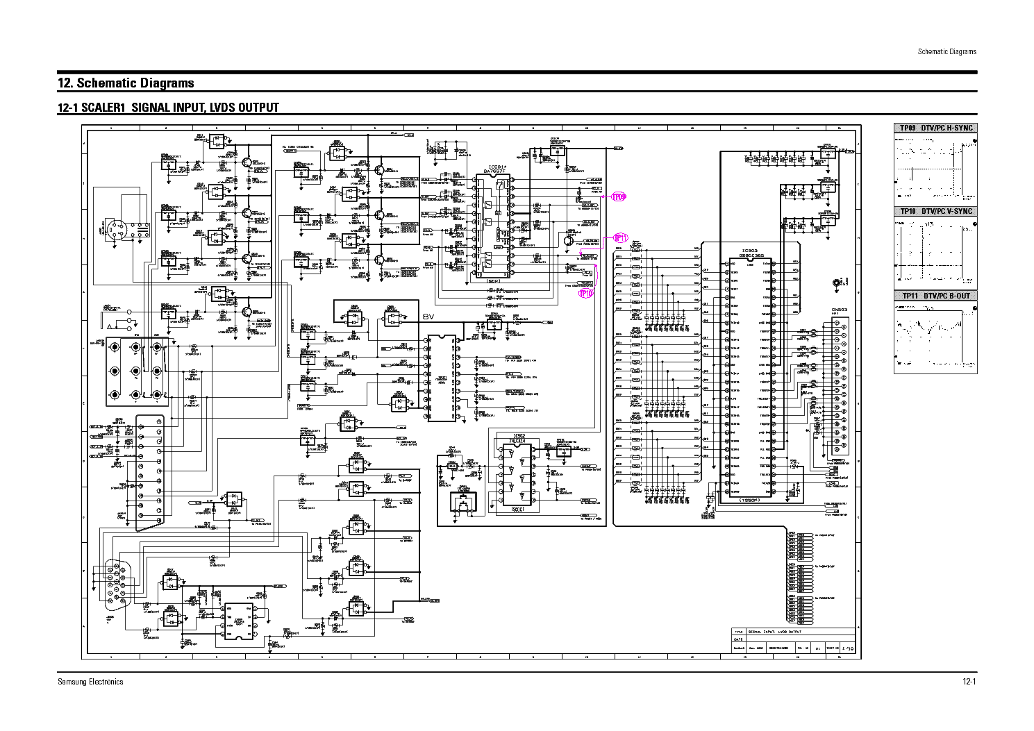 Samsung Led Tv Schematic Diagram