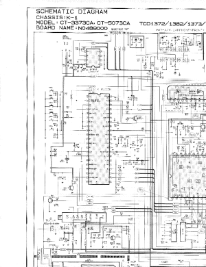 SAMSUNG TXD1972CHASISK1CIRCUITDIAGRAM Service Manual