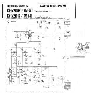 SONY KVM2100K2101K Service Manual download, schematics