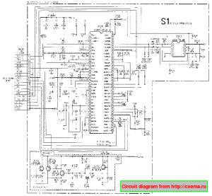 SONY KV29X5R TV D Service Manual download, schematics