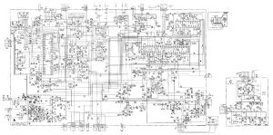 SONY TRINITRON KV1487MT KV21BMR1 CHASSIS SCCF21J