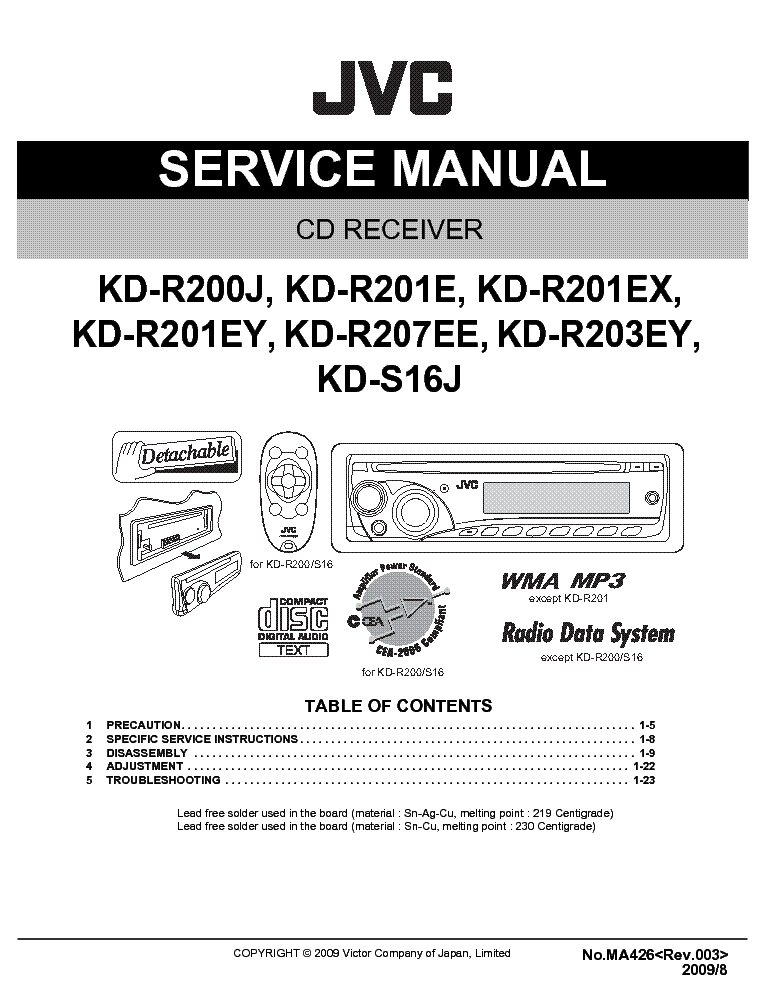 jvc_kd r200_r201_r203_r207_s16_service_manual.pdf_1?resize\\\=665%2C861 sl125 total loss wiring diagram sl125 wiring diagrams collection  at eliteediting.co