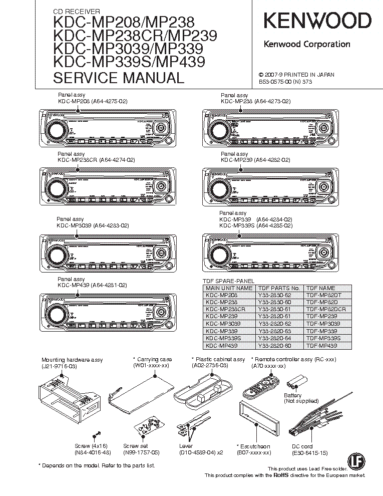 kenwood_kdc mp208_238 239 3039 339 439.pdf_1?resize=665%2C861&ssl=1 kenwood kdc mp205 wiring diagram kenwood car stereo wiring kenwood cd player wiring diagram at aneh.co