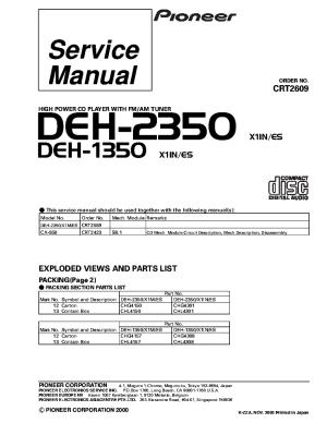 Pioneer Deh 2350 Wiring Diagram Free Download • Oasisdlco