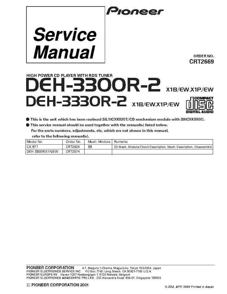 Wiring Diagram Pioneer Deh X65bt : Wiring harness for a pioneer deh p bt diagram