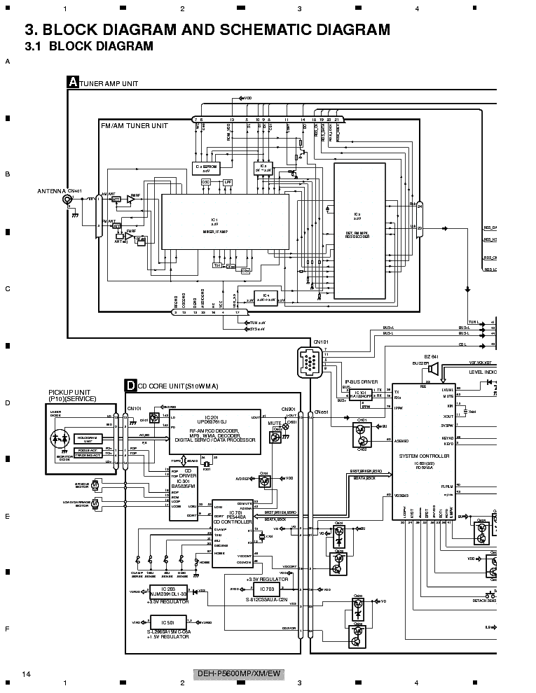 Cool Pioneer Deh-14ub Wiring-diagram Contemporary - Best Image ...