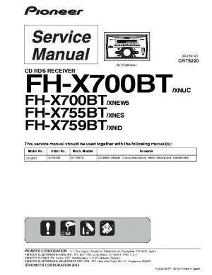 Wiring Diagram Pioneer Fh X700Bt – The Wiring Diagram – readingrat