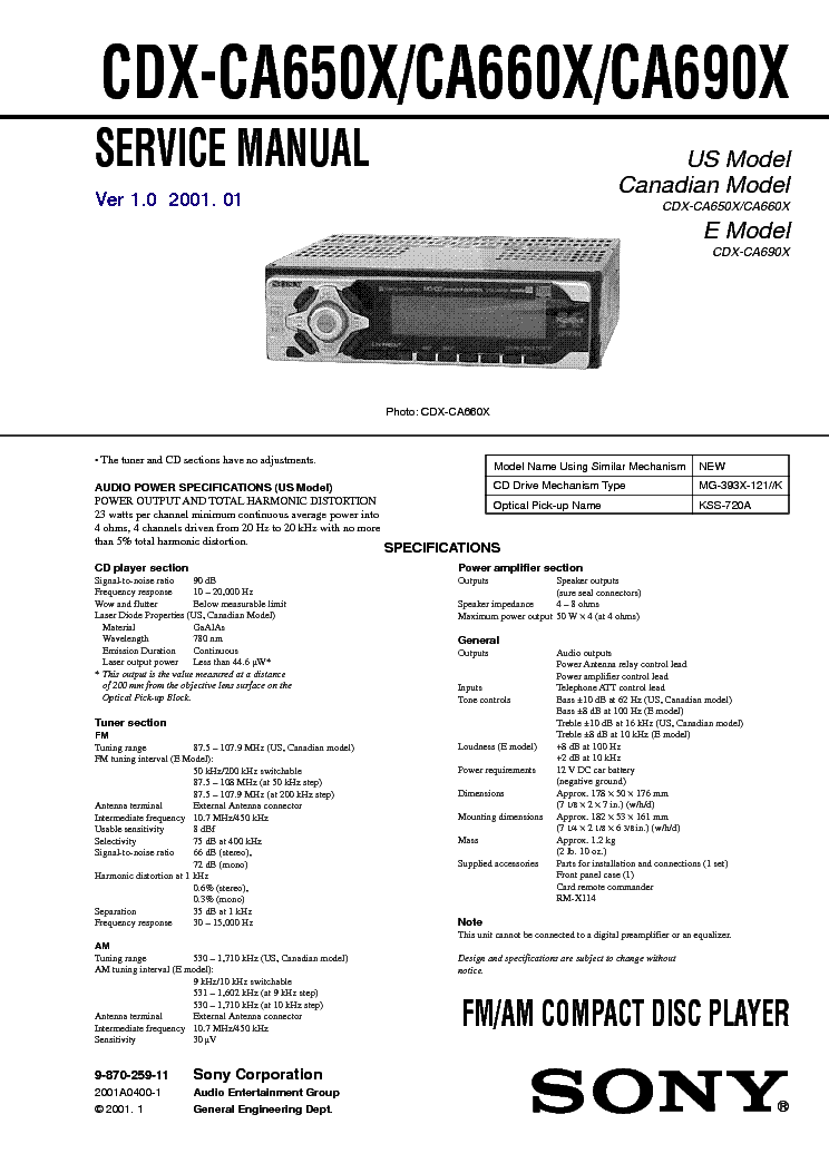 Sony Cdx Gt240 Wiring Diagram On Sony Download Wirning Diagrams