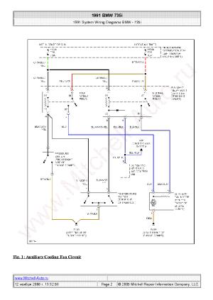 BMW 528E 1985 WIRING DIAGRAMS SCH Service Manual download