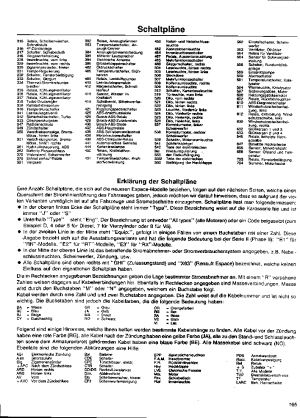 RENAULT ESPACE J63 WIRING DIAGRAM Service Manual download