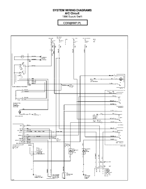 SUZUKI WAGONR WIRING DIAGRAM Service Manual download
