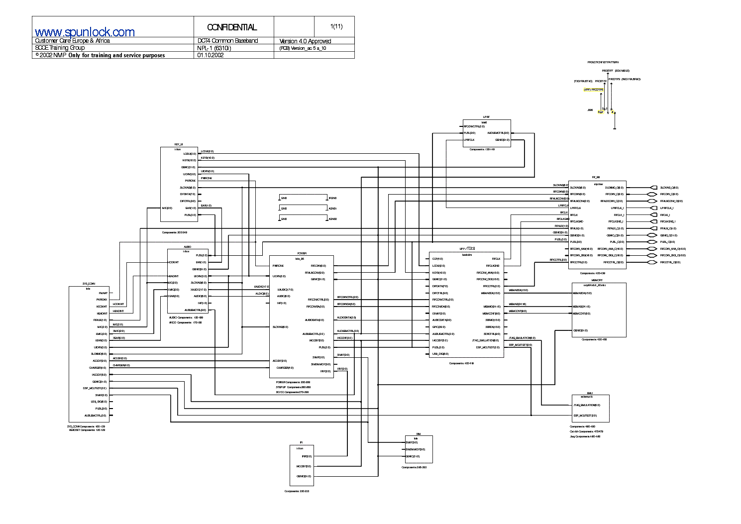 Schematic Nokia Powerking