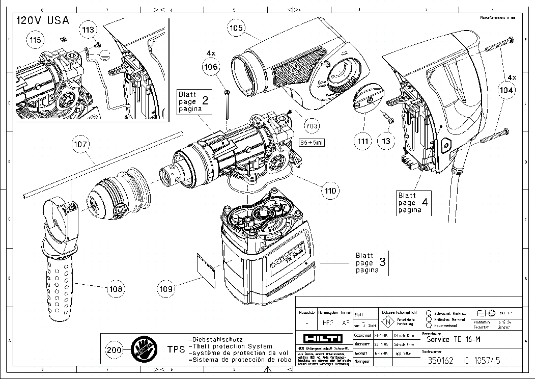 Hilti Parts Diagram Dsh700. Parts. Wiring Diagram Images