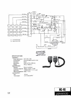 Mc 48b Microphone Wiring Diagram  Diagrams online
