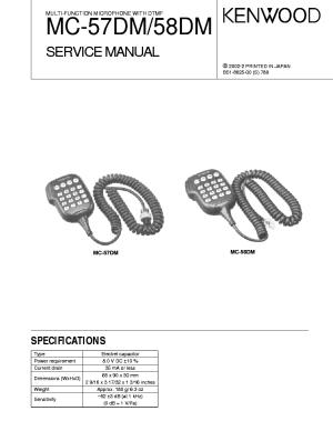 Kenwood Mc 50 Wiring Diagram | Online Wiring Diagram
