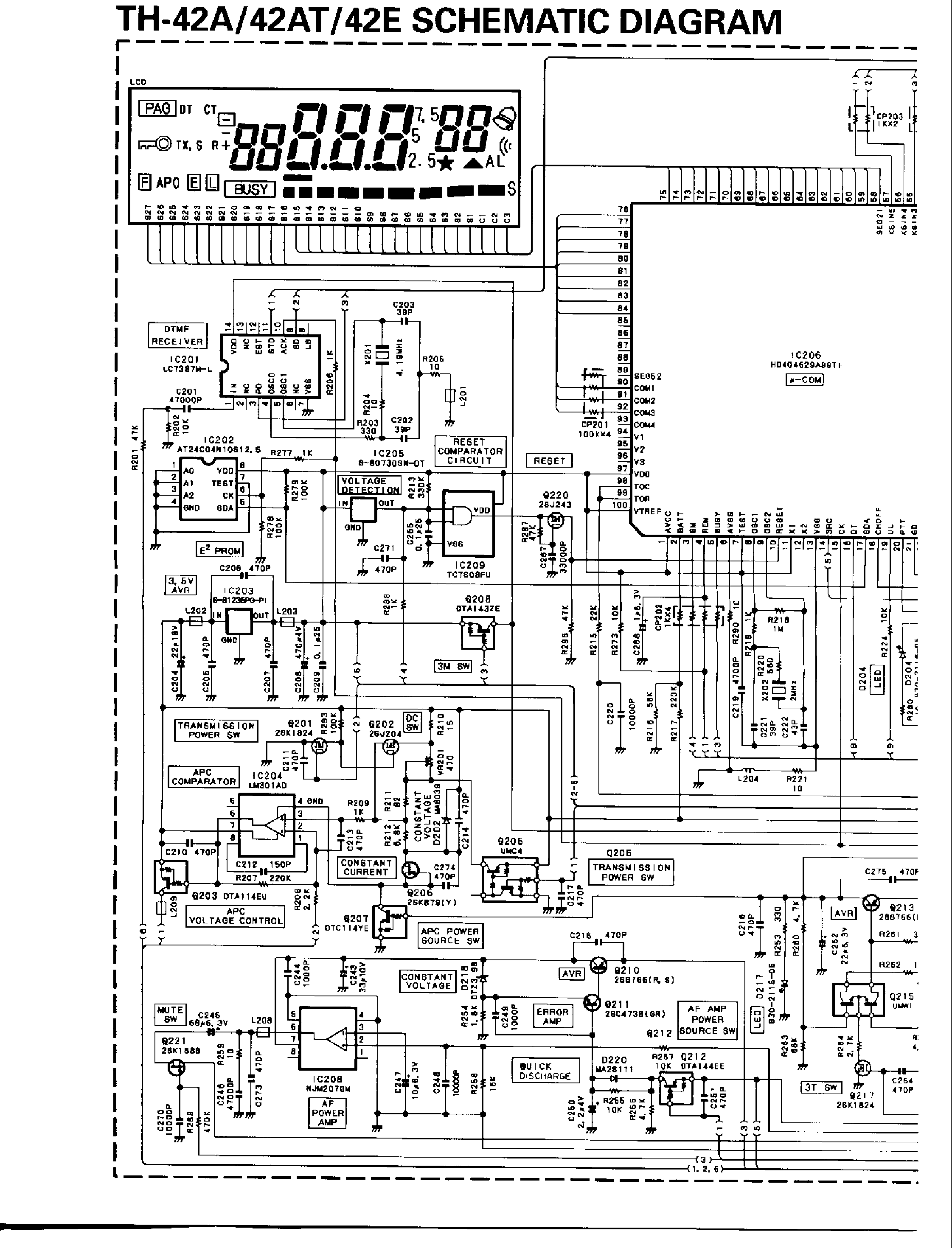 Kenwood Tm D700 Service Manual Free Download Schematics