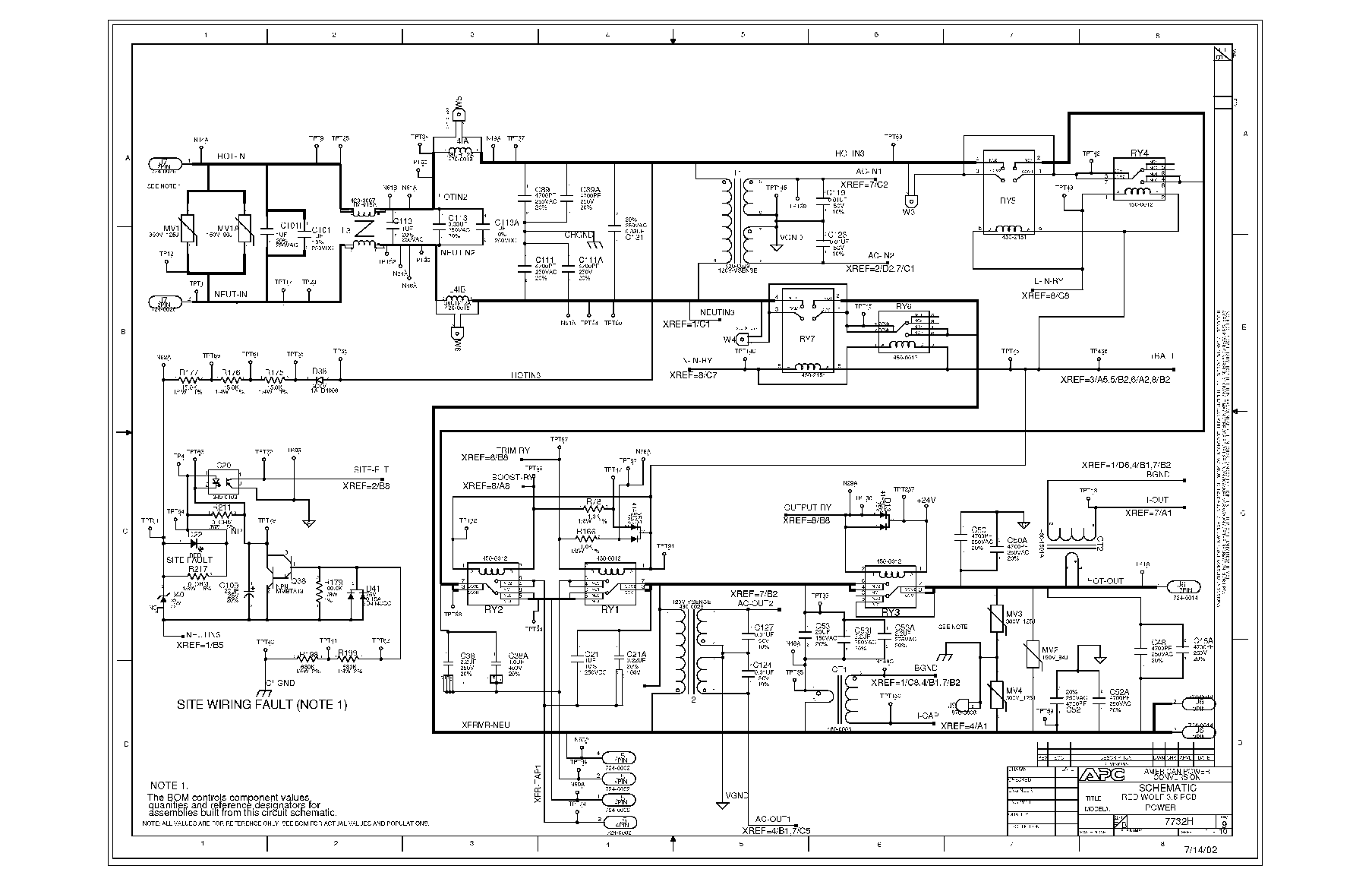 Apc 500 Wiring Diagram