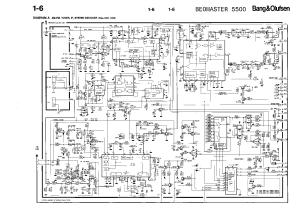 BANGOLUFSEN BEOMASTER5500 Service Manual download, schematics, eeprom, repair info for