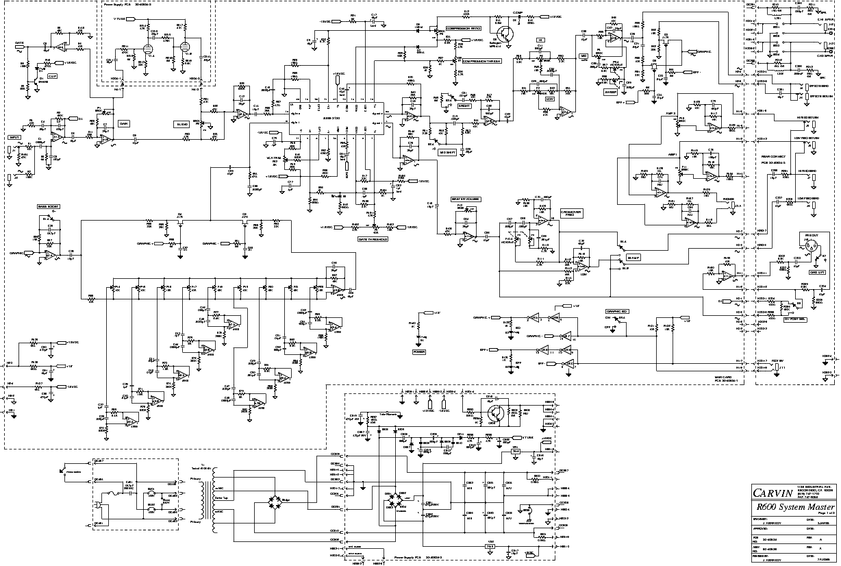 carvin schematic