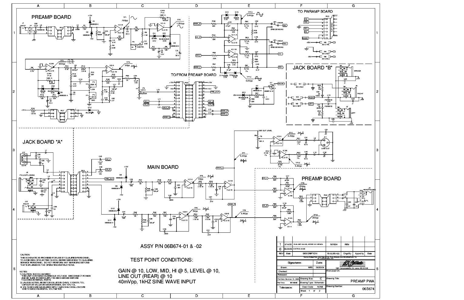 Crate Palomino V32 Service Manual Download Schematics