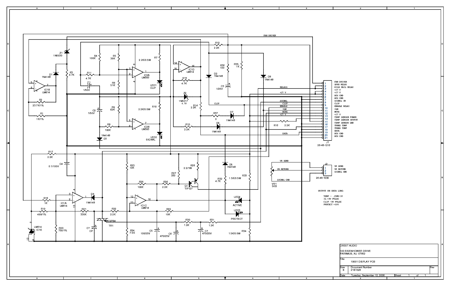 Crestaudio Pro Service Manual Download Schematics