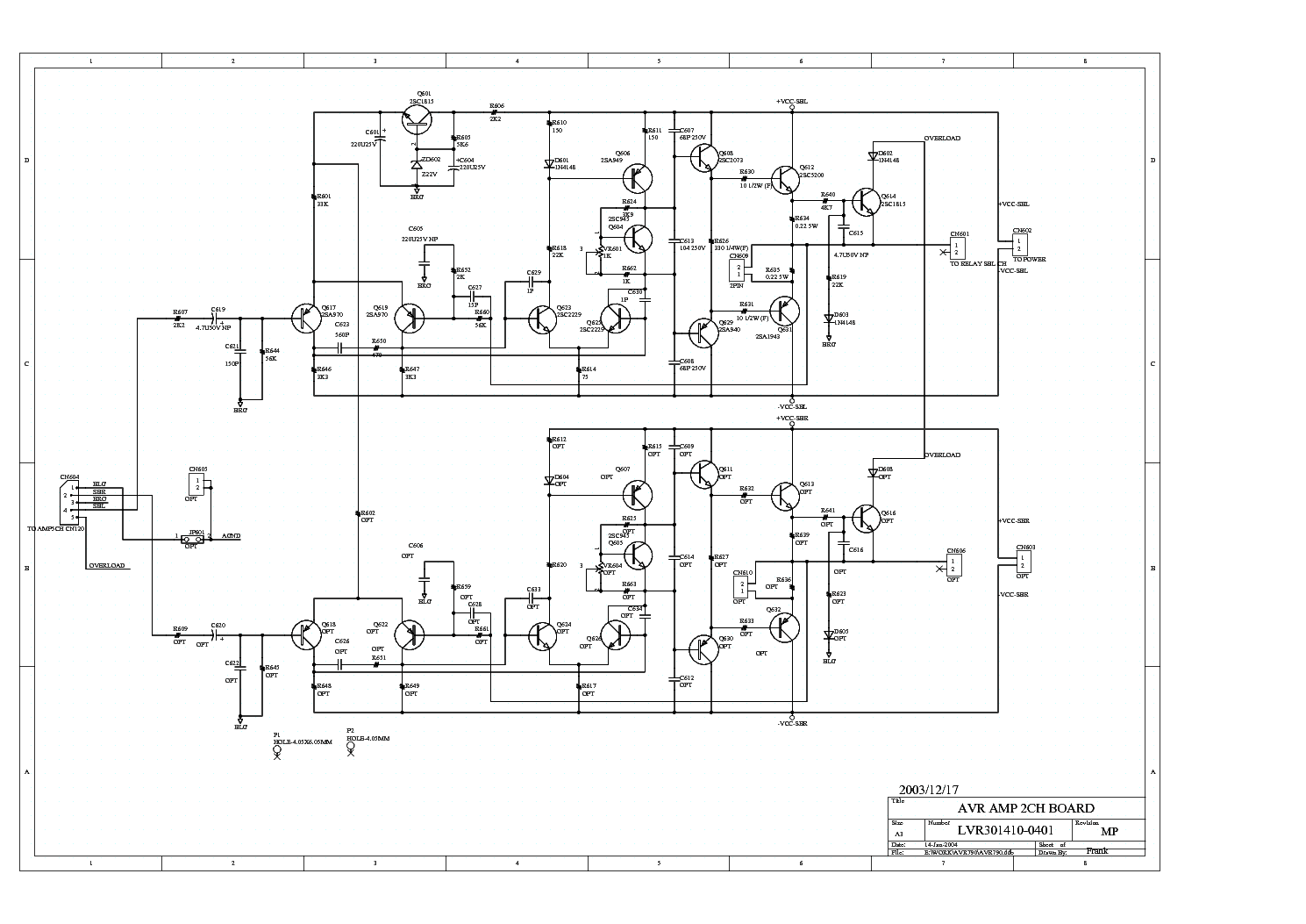 Jamo A300 Service Manual Download Schematics Eeprom
