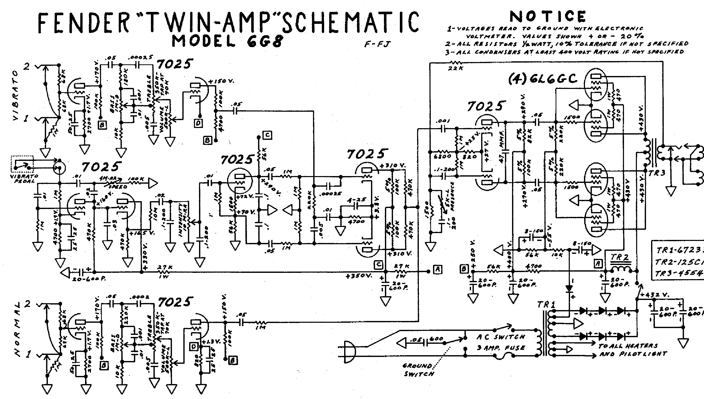 Fender Pa135 Service Manual Download Schematics Eeprom