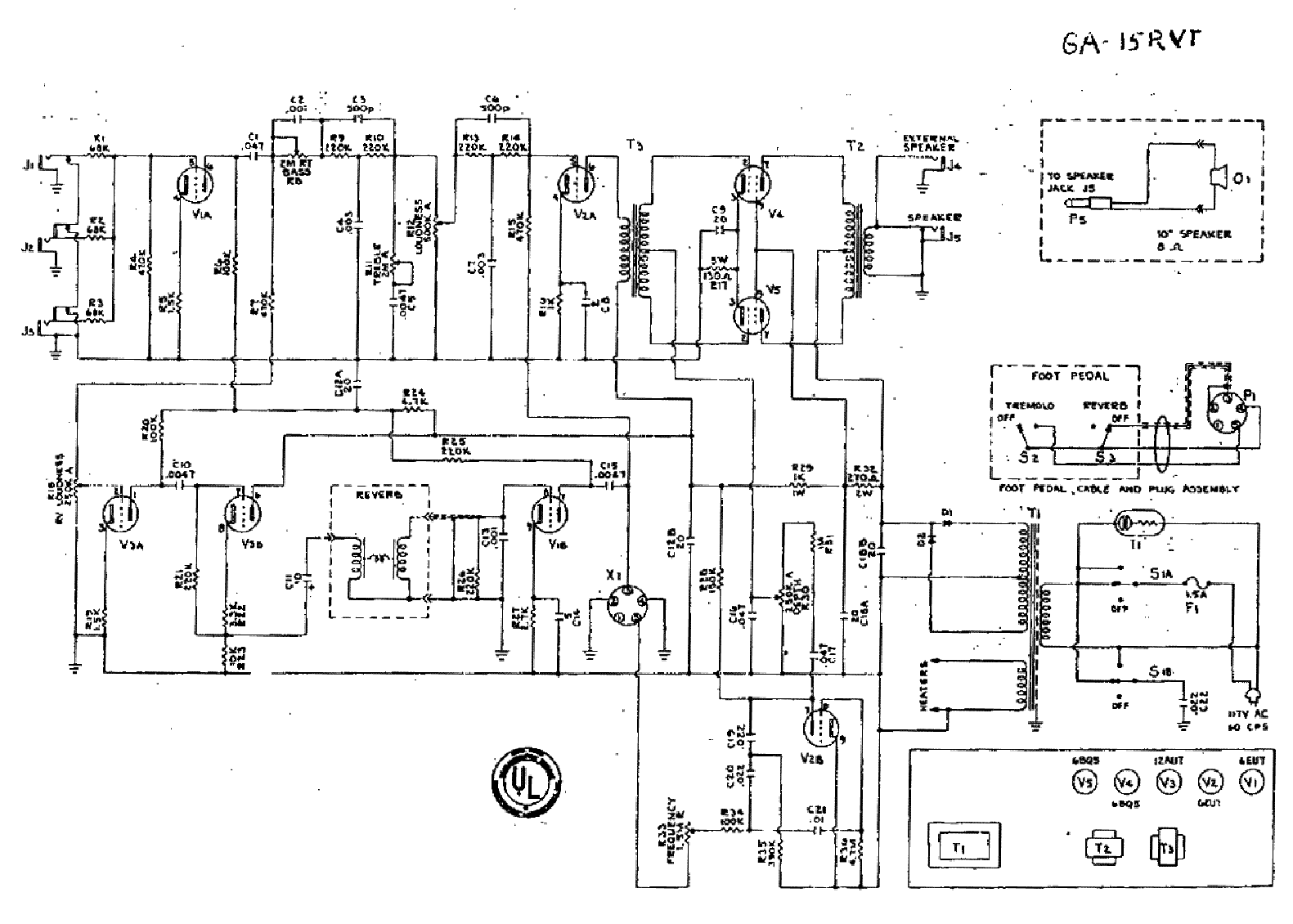 Gibson Ga 19rvt Schematic Service Manual Download