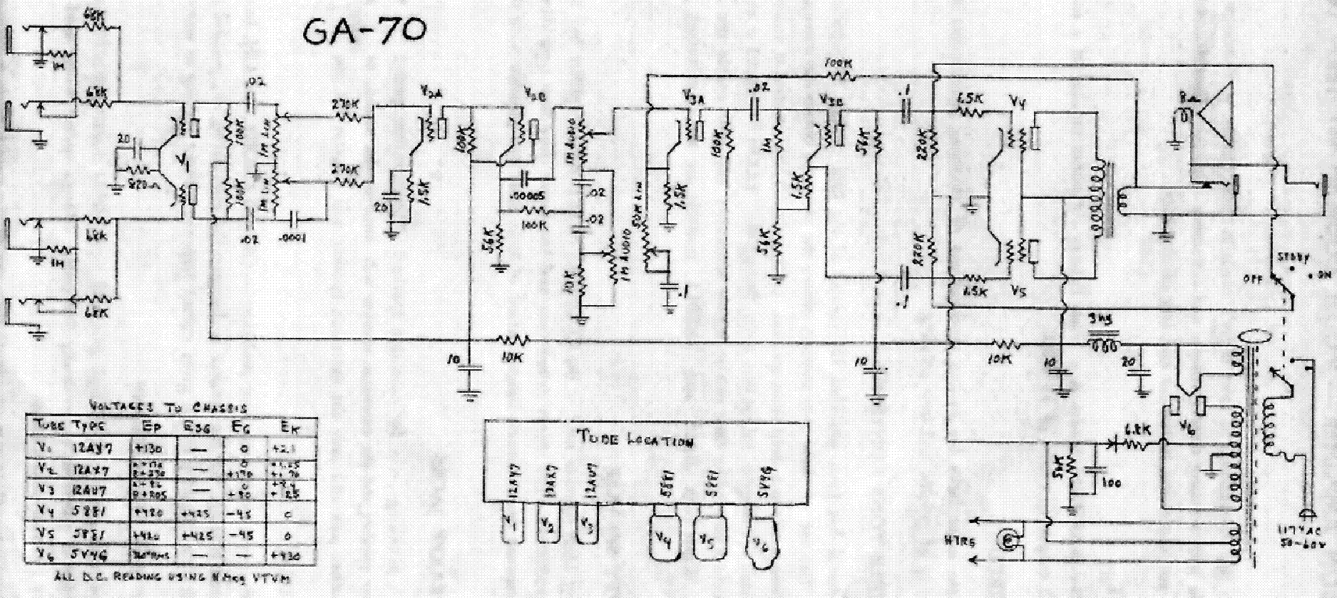 Gibson Ga 8t Schematic Service Manual Download Schematics
