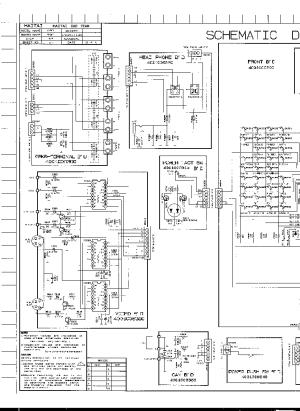 HARMANKARDON AVR51 SCH Service Manual download