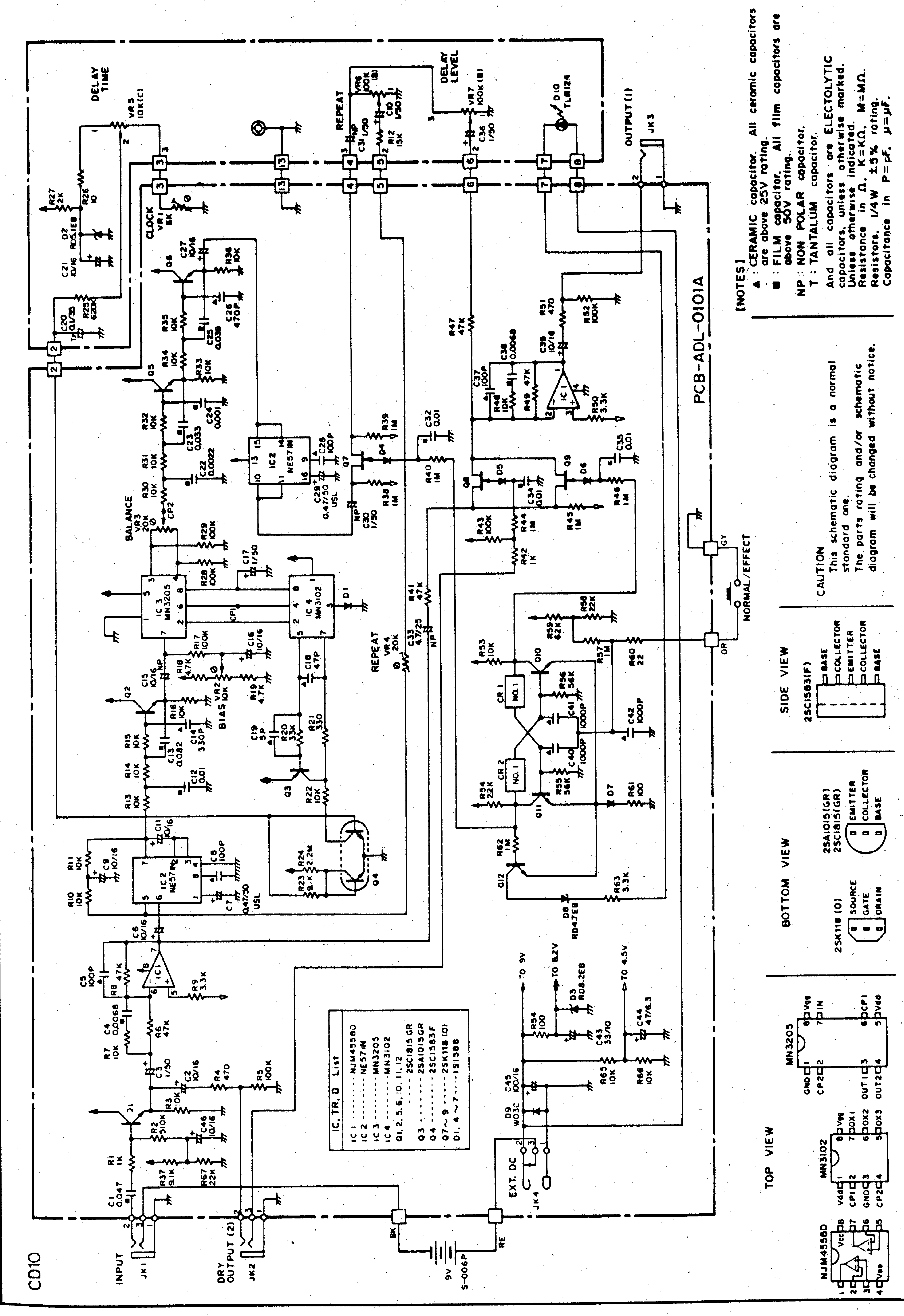Ibanez Ph7 Service Manual Free Download Schematics
