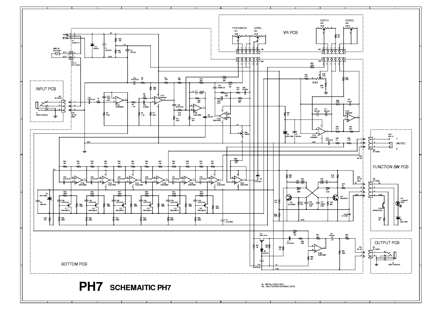 Ibanez Ad80 Sch Service Manual Download Schematics