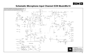 JBL EON MUSICMIX10 SCH Service Manual download, schematics