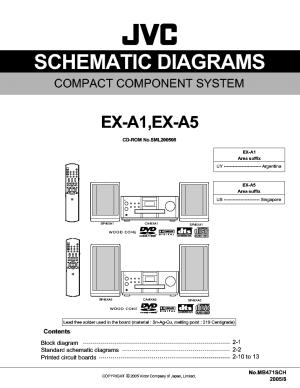 JVC EXA1 A5 SM Service Manual download, schematics