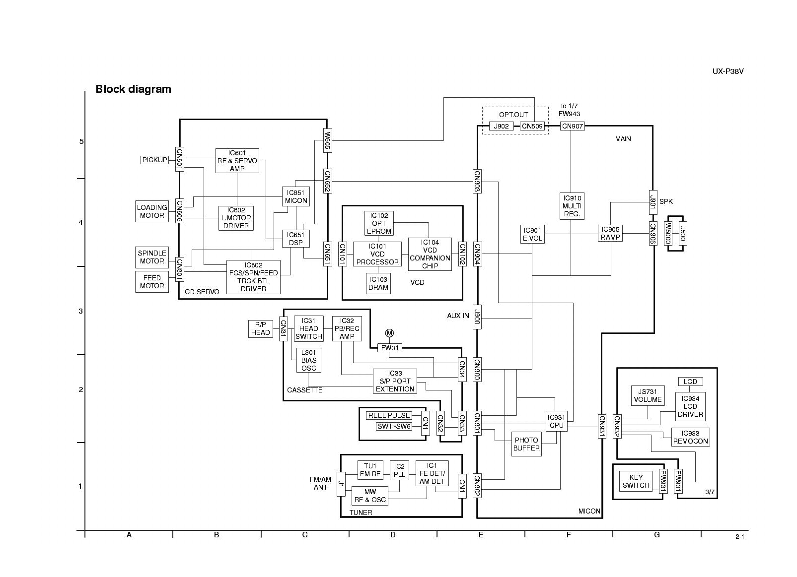 Jvc Ax 222bk Service Manual Free Download Schematics