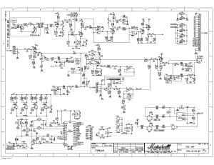 MARSHALL JVM410 Service Manual download, schematics, eeprom, repair info for electronics experts