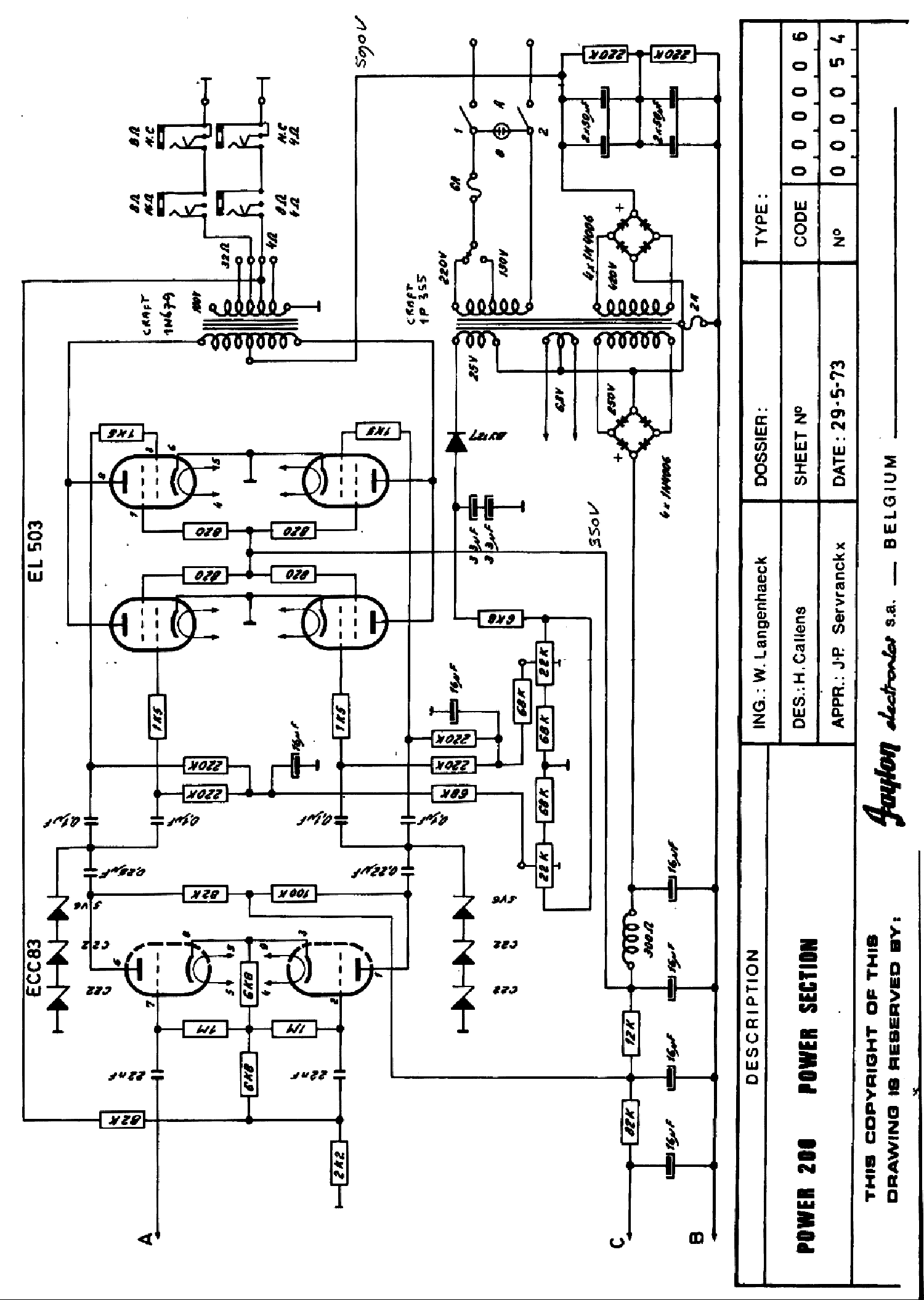 Faylon Power 200 Audio Pa Sch Service Manual Download