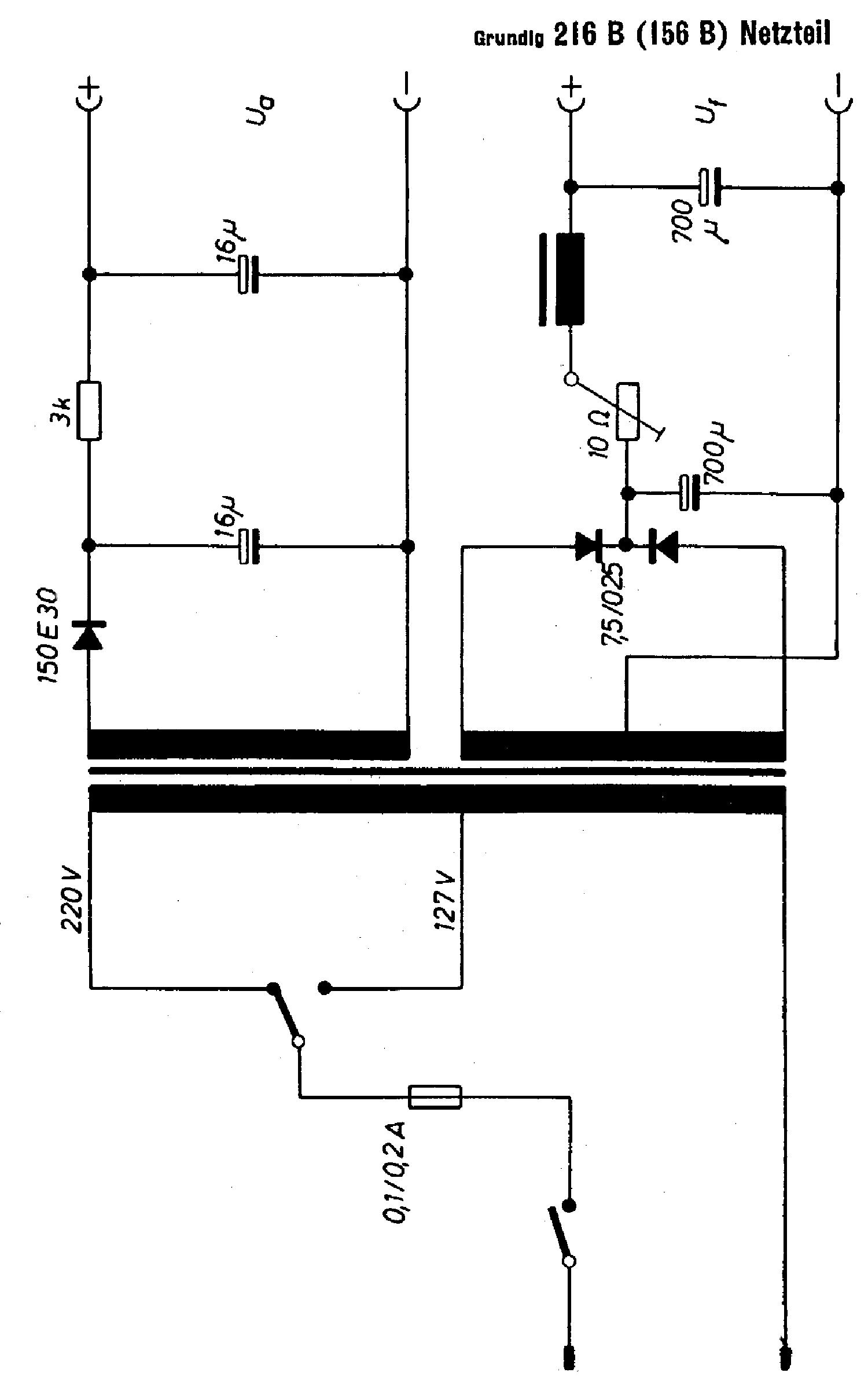 Grundig Mw Am Radio Receiver Sch Service Manual