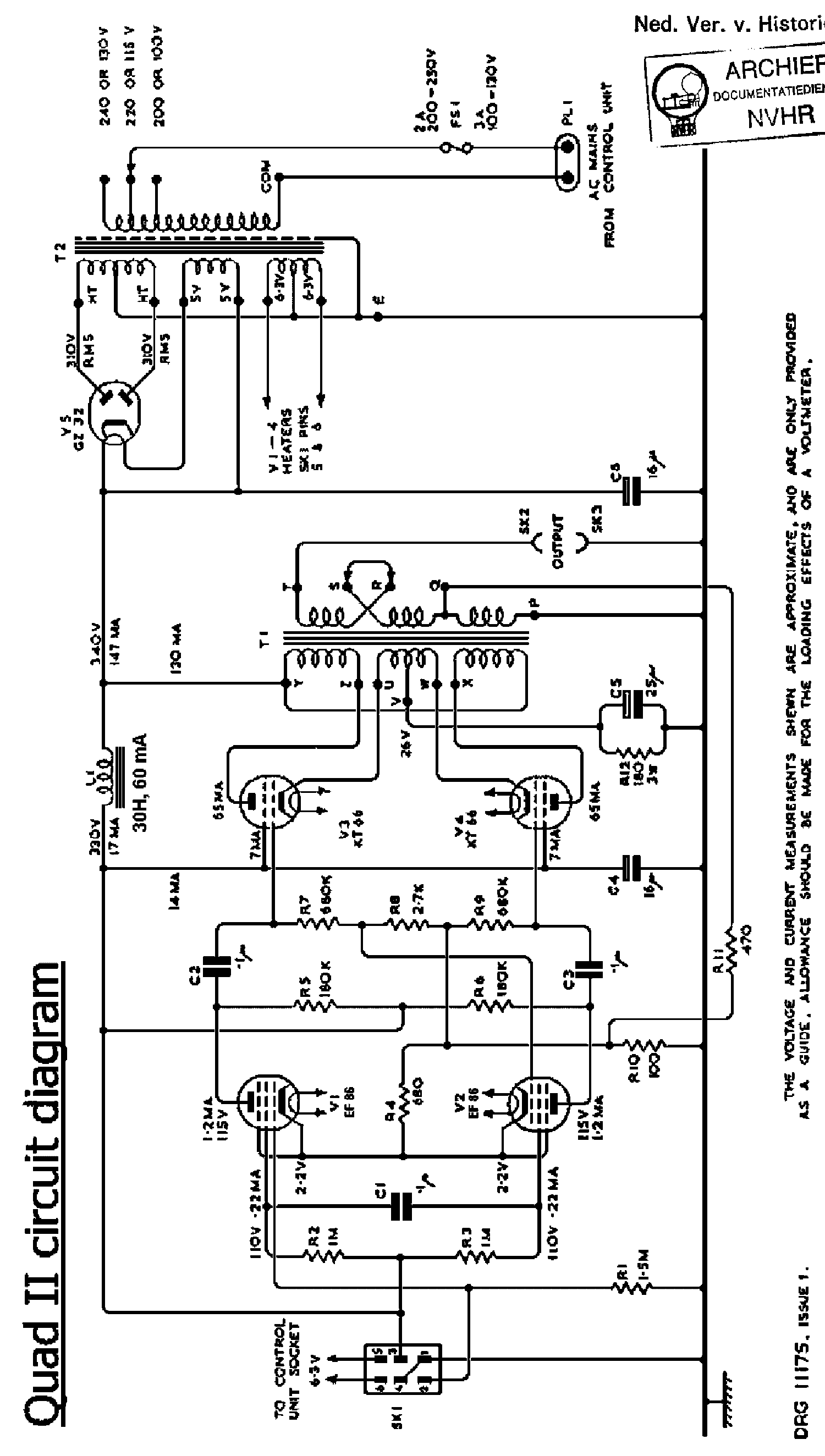 Quad 606 Power Amplifier Repair Manual