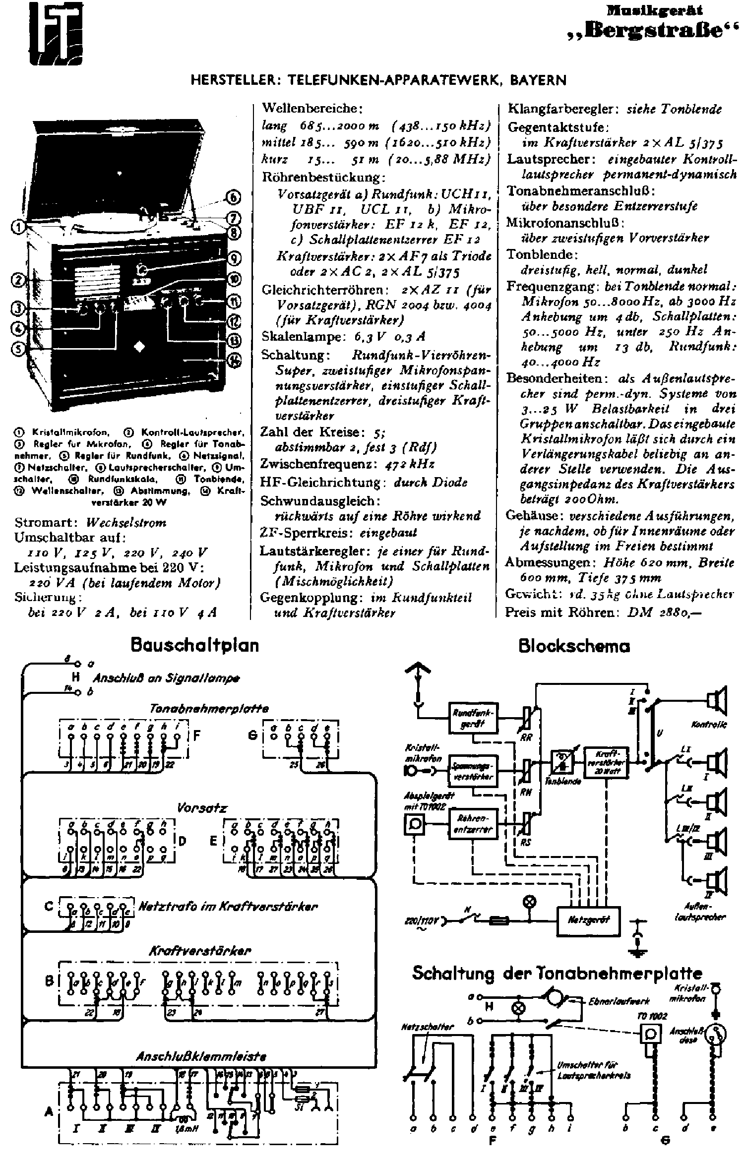 Telefunken Hymnus Hifi Service Manual Download
