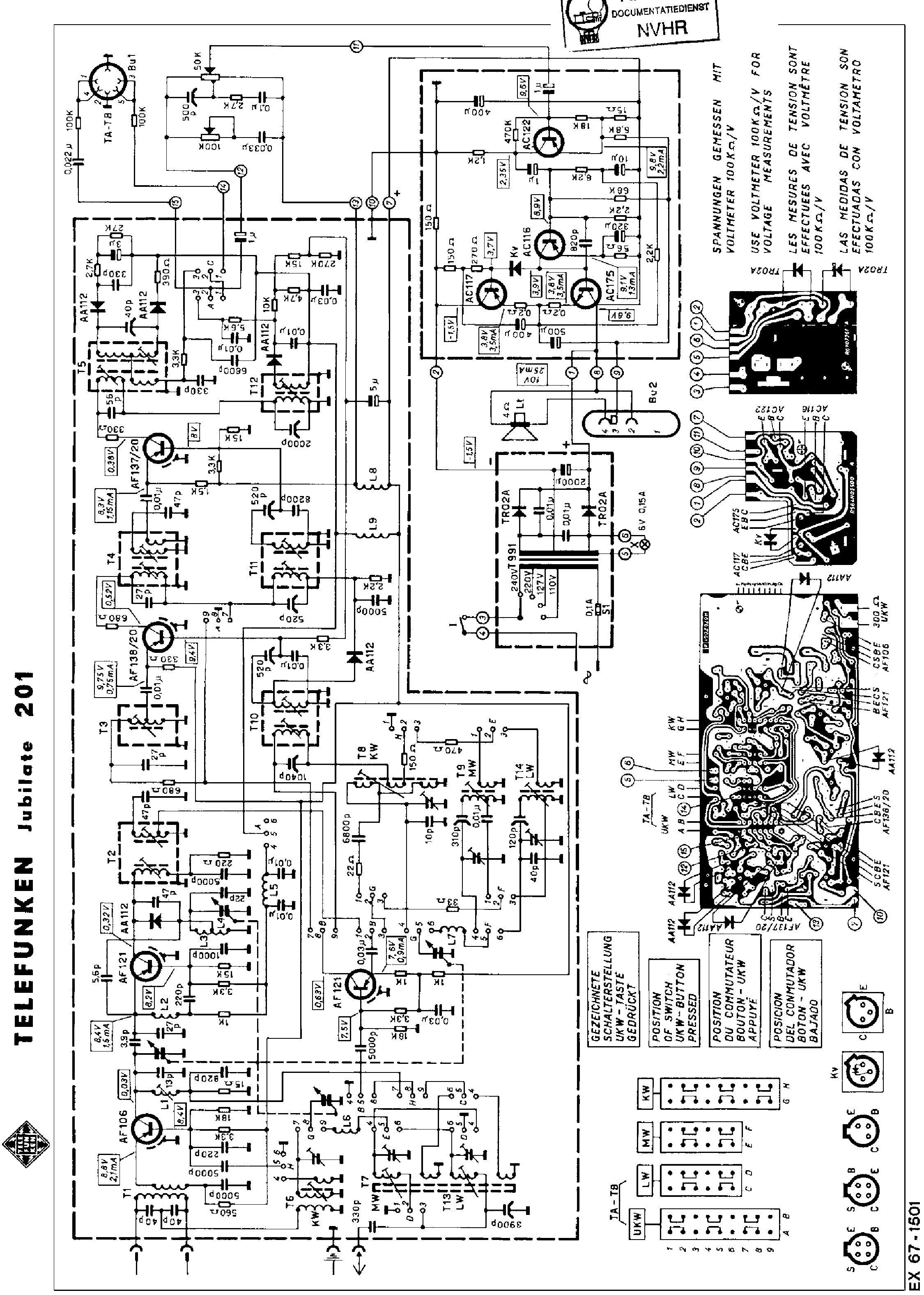 Telefunken Ht870 Schematics Service Manual Free Download