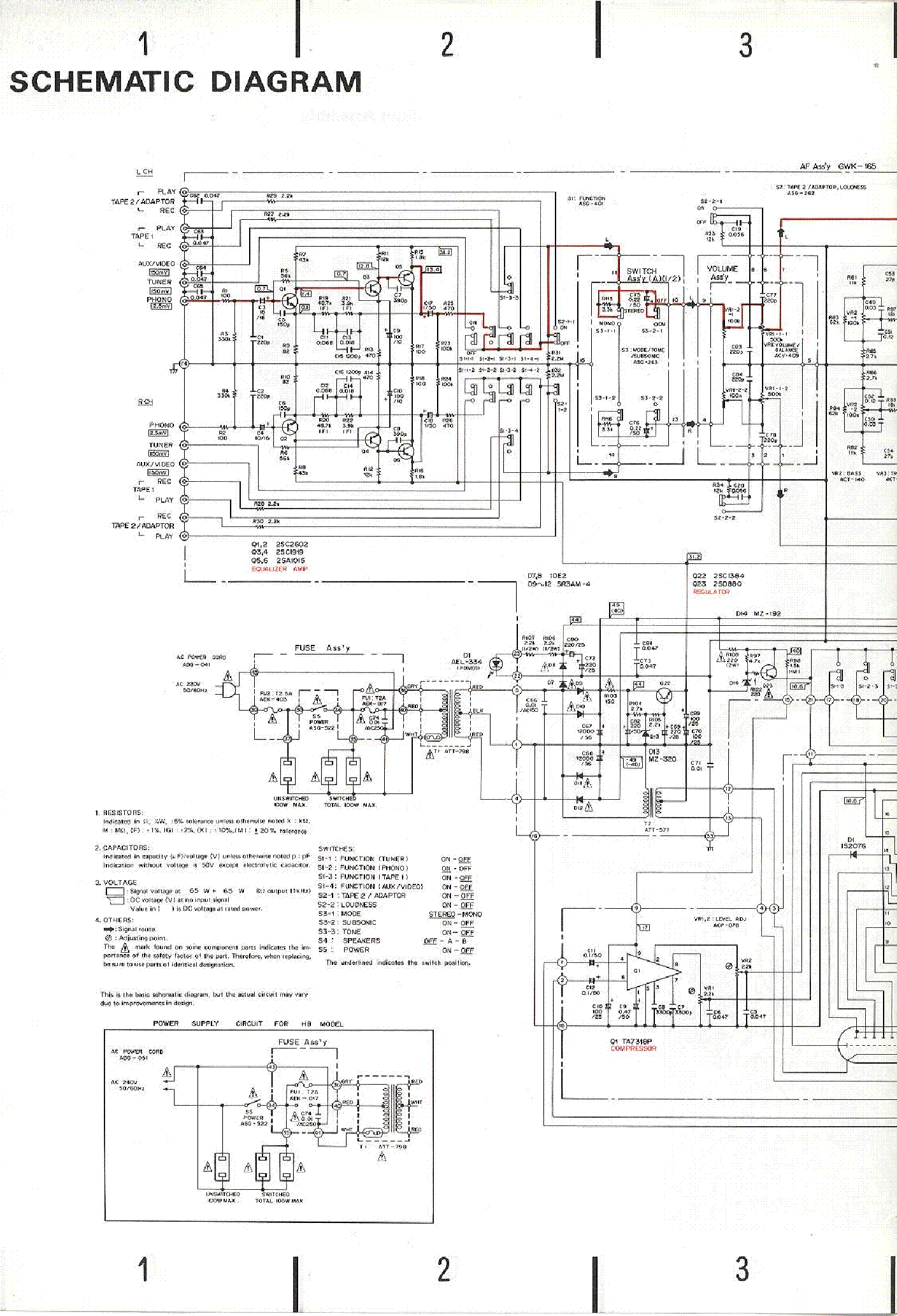 Pioneer Sa 720 Service Manual Download Schematics Eeprom