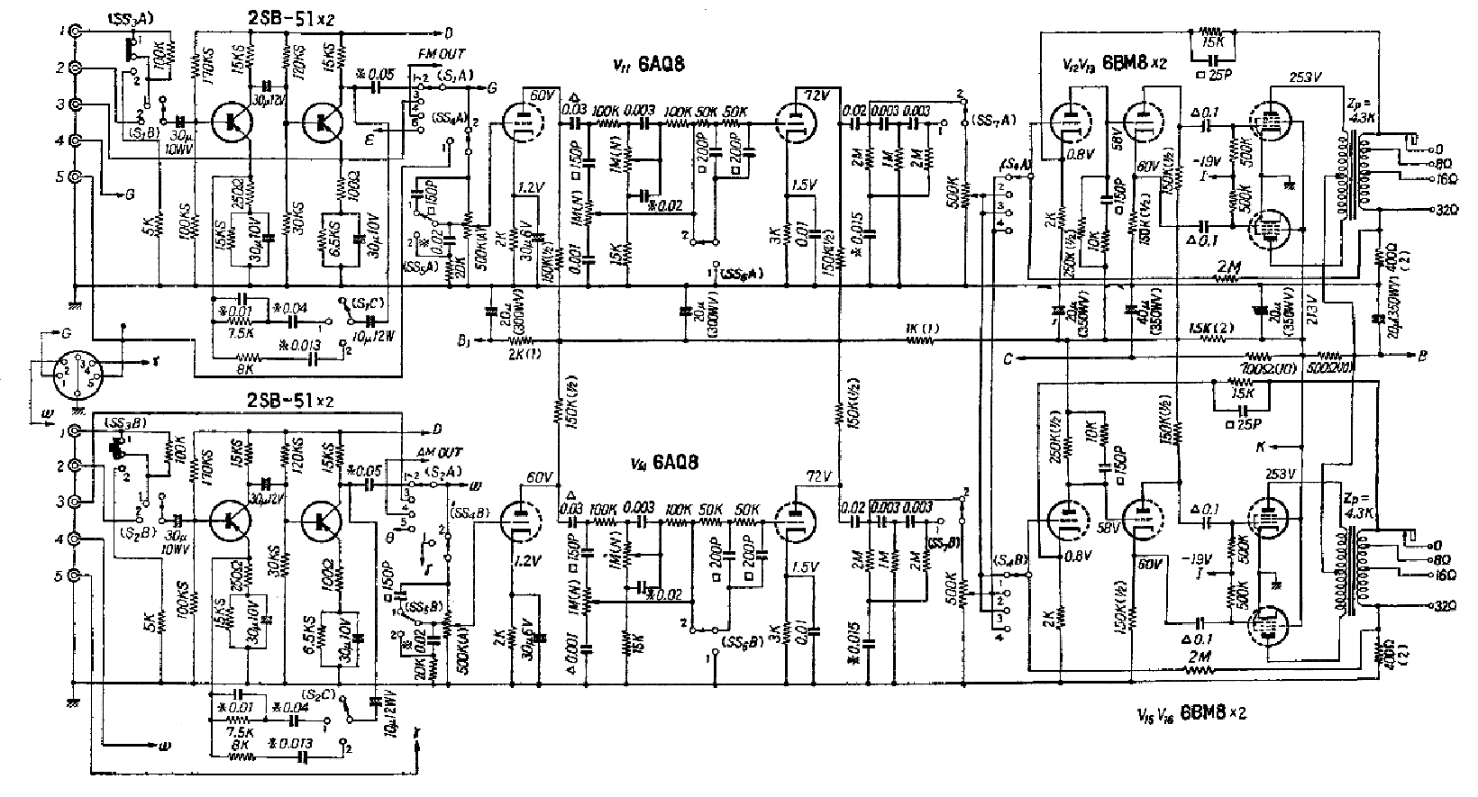 Sansui 500 Sch Service Manual Download Schematics Eeprom