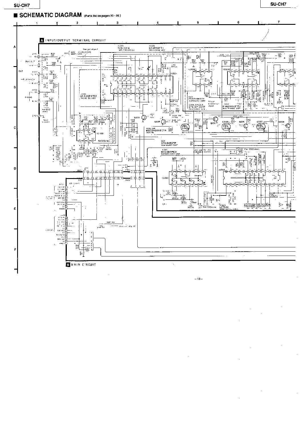 Technics Sl Sm Service Manual Download Schematics