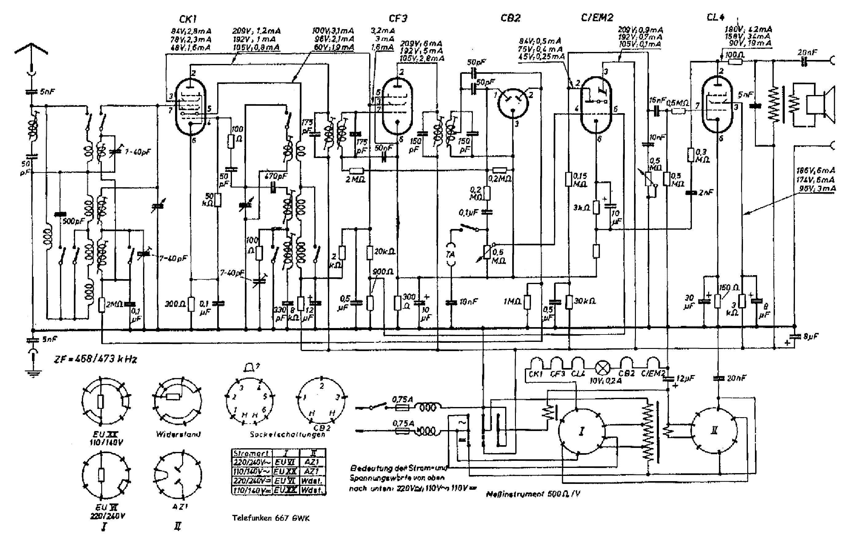 Telefunken 686gwk Radio Sch Service Manual Download