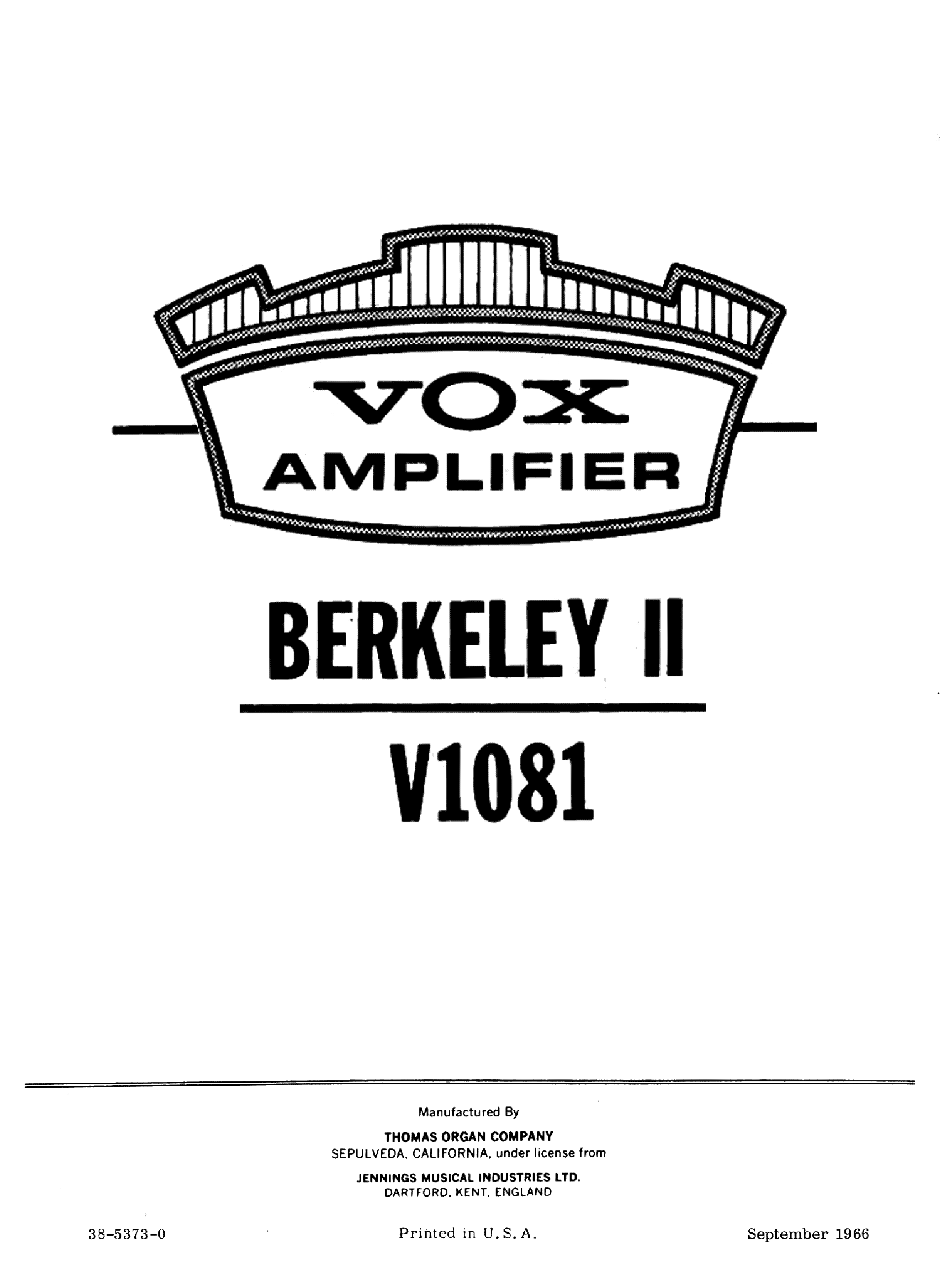 Vox Ac30 Bass Sch Service Manual Free Download Schematics Eeprom Repair Info For Electronics